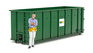 40 yard dumpster size in Vancouver Island, BC